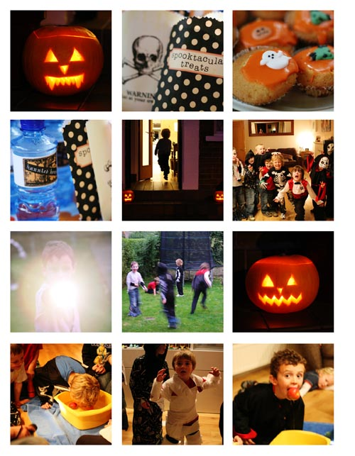 Hallowe'en collage